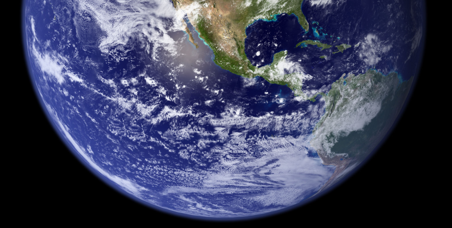 The earth, seen from space