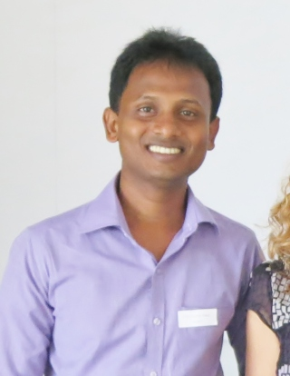 A photo of Roshan, a 2016 WID fellow.