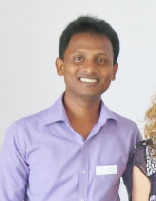 A photo of Roshan, a 2016 WID fellow.