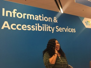 Information & Accessibility Services Desk at CES 2018