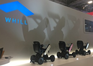 The WHILL wheelchairs
