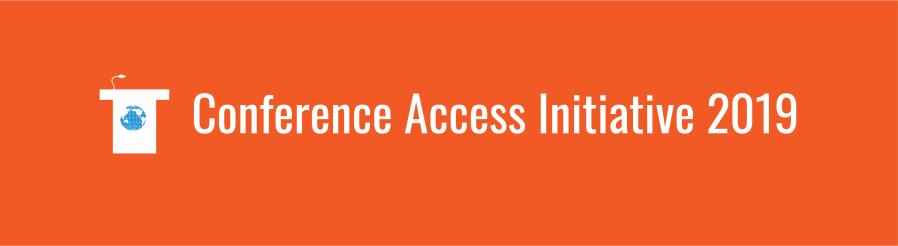 Conference Accessibility 2019 banner image
