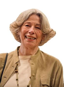 Joan Leon smiling