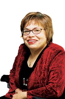Judy Heumann smiling