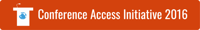 Link to Conference Access Initiative 2016 page.