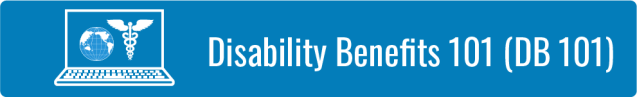Link to Disability Benefits 101 (DB 101) page.