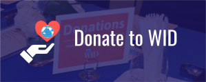 Donate to WID via PayPal
